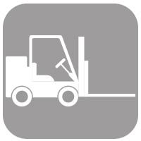 Roteirização e mapa de carga.